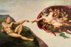 The Creation of Kev by KAdDigArt