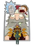 Rick and Morty Pin #3 by KingVego