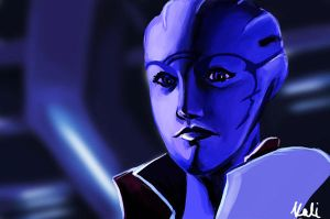 Aria T'Loak by reubelyn