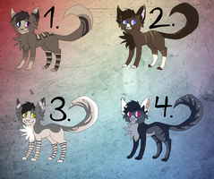 Point Adoptables Batch 3 *Closed* by LittleKittyCat7adopt