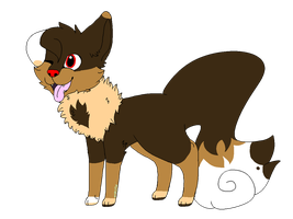 The Dog Eevee by qhostpaws