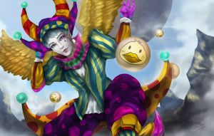Fooling Clown by poly-problematique