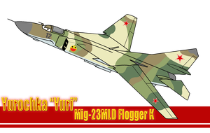 WS: Yurochka Mig-23MLD Flogger K by TheAngryFishbed
