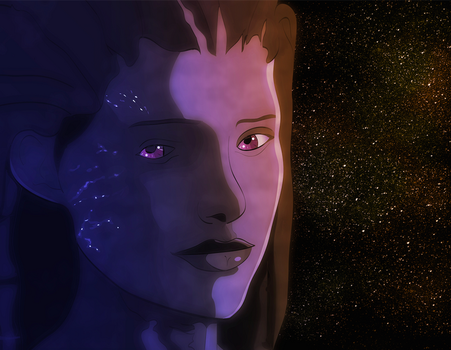 Sarah Kerrigan of the Stars by Old-Crow