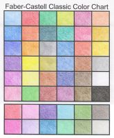 Faber-Castell Color Chart by henrideacon