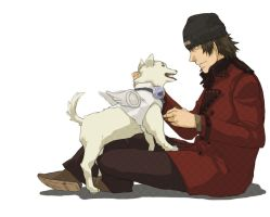 P3 - Shinji and Koromaru by Nazgullow