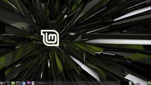 My Linux Mint Desktop by Nivorya