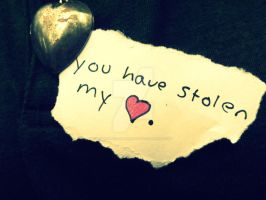 You Have Stolen my Heart by hourglass-paperboats