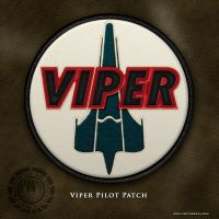 BSG Viper Pilot Patch by vectorgeek