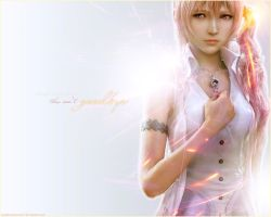 Serah Farron - isn't goodbye by MaybeTomorrow07