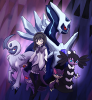 Homura's Pokemon by Bedupolker