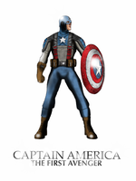MARVEL- Captain America by Mr-Saxon