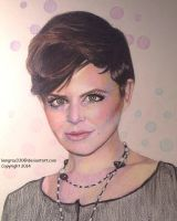 Ginnifer Goodwin   ~Colored Pencil by lemgras330