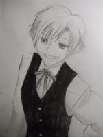 Waiter Tamaki by Axnara-the-insane