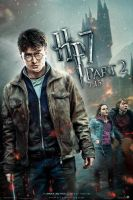 HP7 part 2 - trio poster by AndrewSS7