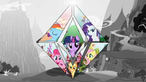 The Faces of Harmony by BronyYAY123