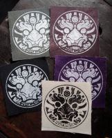 Canvas patches by missmonster