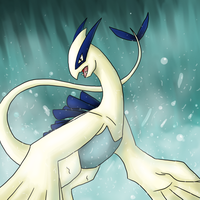 Lugia's Waterfall by Inudoragon23