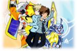 Courage meets Friendship ~ Digimon Adventure Tri by Fayrin-kun