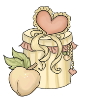 Secret Pony Adopt: Precious Peach Gift Box{CLOSED} by Blesses