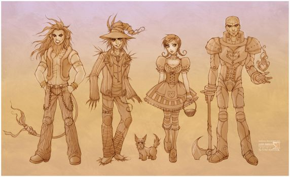 Wonderful Wizard of OZ by daekazu