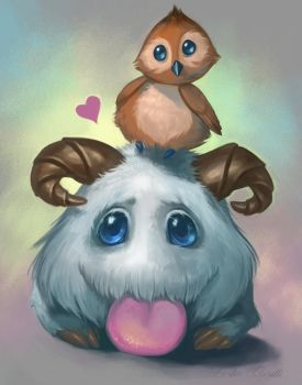 Poro and Pepe by Enchantress-LeLe