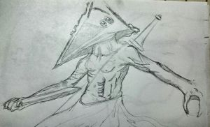 pyramid head silent hill by amadeus450