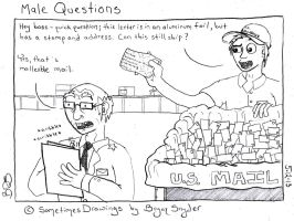 Male Questions by SometimesDrawings