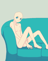 Relaxing alone base by YummehCrayons