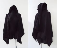Coat with hoodie by Tomo-Strange