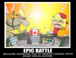 Epic Battle by TheStickMaster