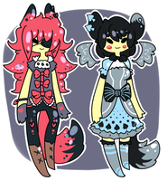 Hearts and Spades Adopts {CLOSED} by Eeyrie