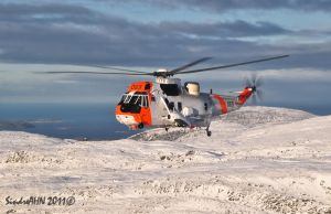 Sea King 069 and the Winter Wonderland by SindreAHN