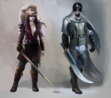 Character concept collection. by Suzanne-Helmigh