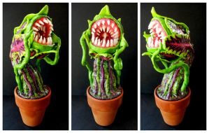 Carnivorous plant monster finished by dogzillalives
