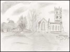 Church in the park by yzarc