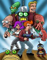 FUTURAMA by LabrenzInk