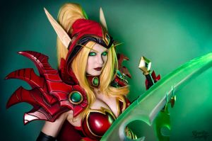 Valeera Sanguinar - Heroes of the Storm by Kinpatsu-Cosplay