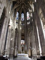 Eglise Saint-Eustache - main altar by kwizar