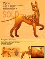 Mars - Character Design Auction - Ended by Plaguedog