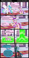 trollestia saving the day by Coltsteelstallion