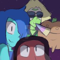 The new crystal gems! by MEOWTHESWAG