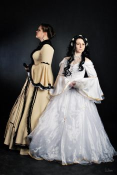 Sophie and Elizabeth by spilgrym