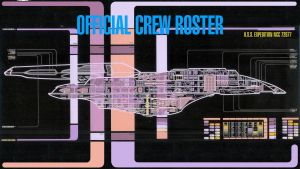 U.S.S. Expedition Crew Roster 2379 by TrekkieGal