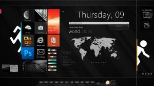 Current desktop Aug2012 by RavenGraphics