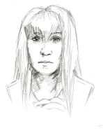 Claire Sketch by psychowolf21