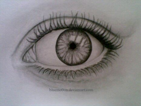 eye by bluemo0on