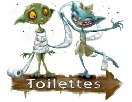 Toilets by Jutchy
