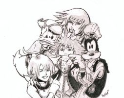 The Gang - Uncolored by BearTrack