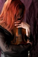 The violinist 5 by Meltys-stock